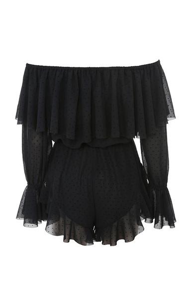 ramona playsuit in black