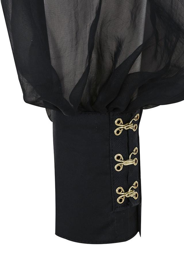 black aliyah top