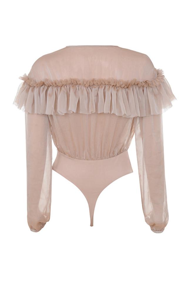 anaya bodysuit in nude