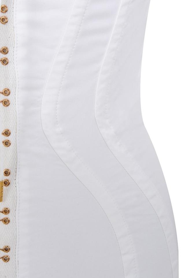 white arabella dress
