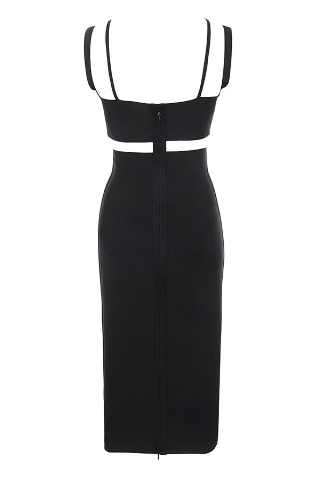 ariyah dress in black