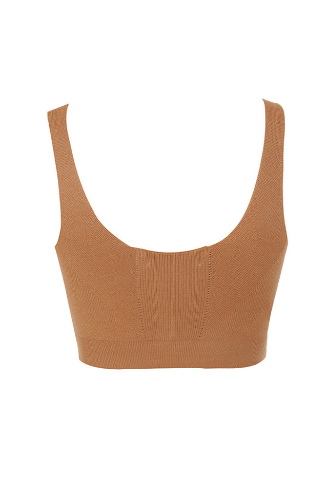carline top in tan