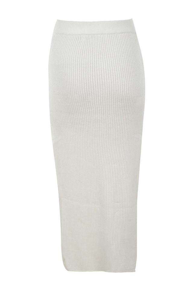 fernanda skirt in white