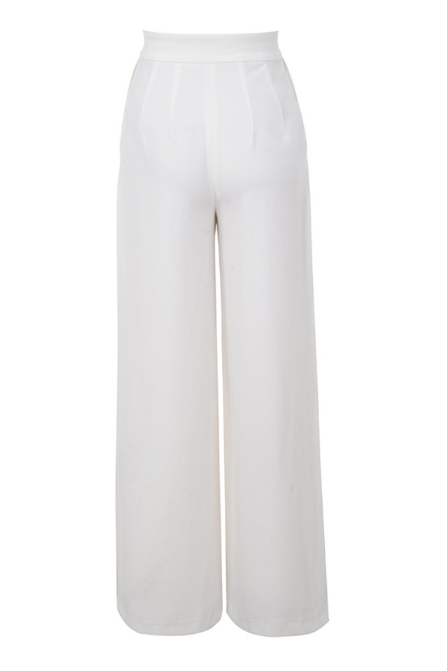 maite trousers in white