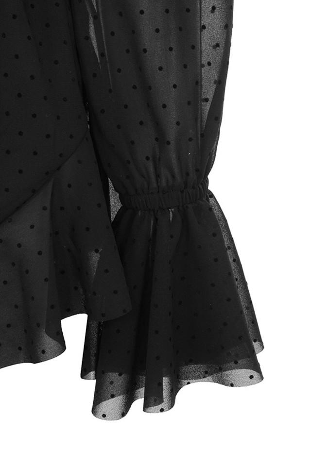 ramona black playsuit