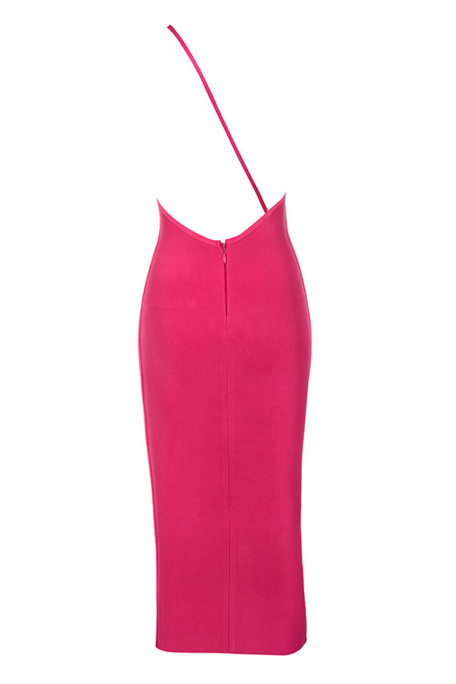 sasha dress in fuchsia
