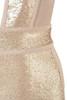champagne anastasia dress