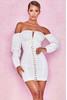 Arabella White Corset Dress