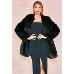 Roberta Evergreen Faux Fur Jacket
