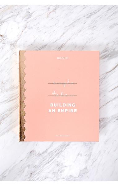 Large Organiser Folio Pink