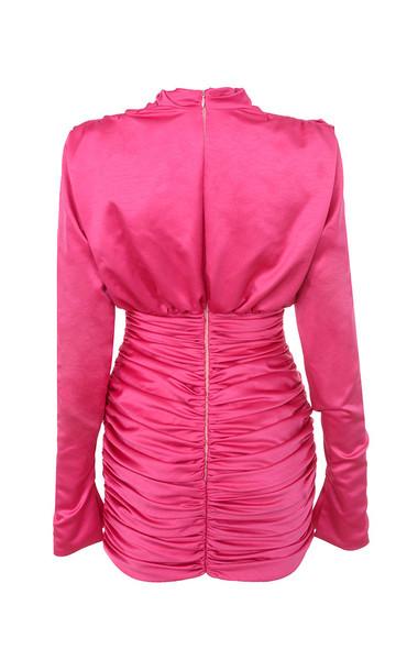 giorgiana dress in pink