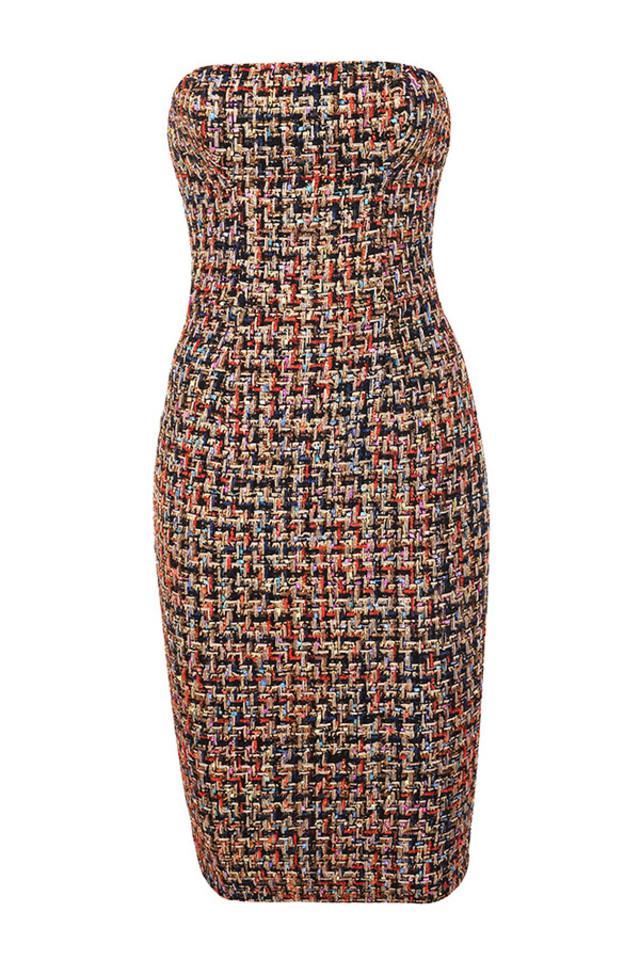 gabrielle color dress