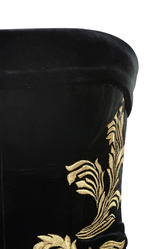 athenea dress in black