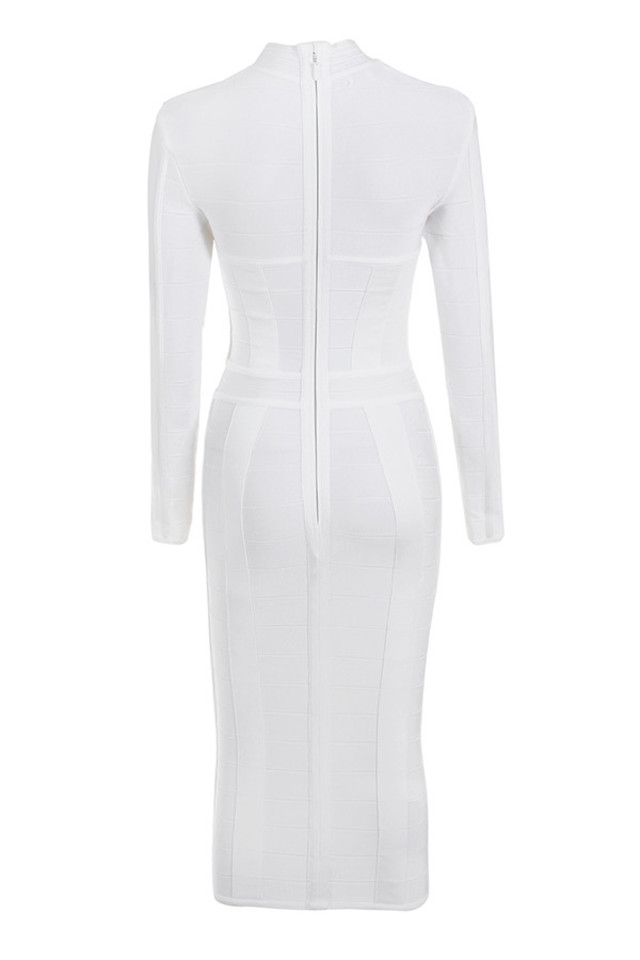 azariah dress in white