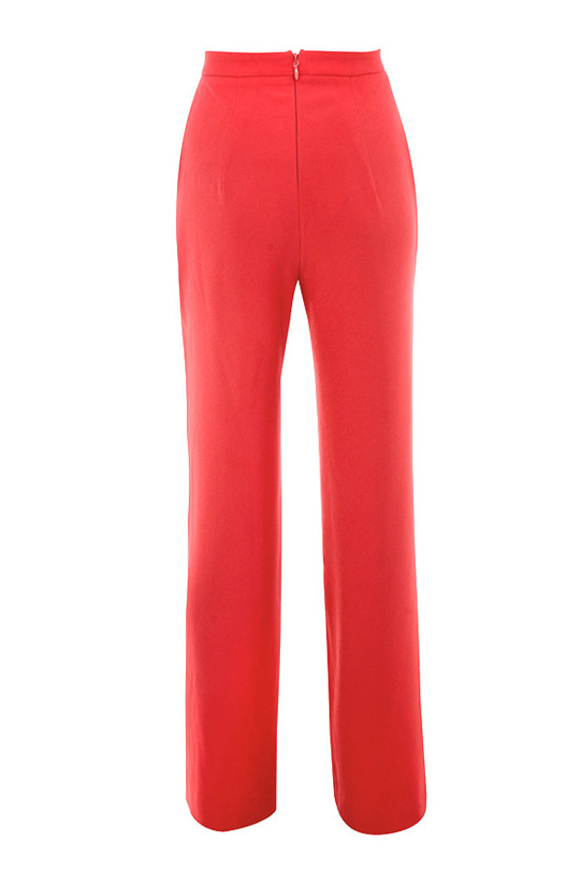 cosima trousers in red