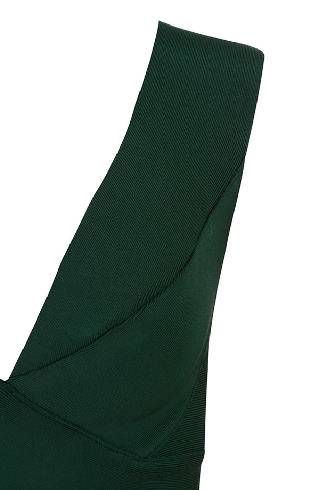 ginevra dress in green