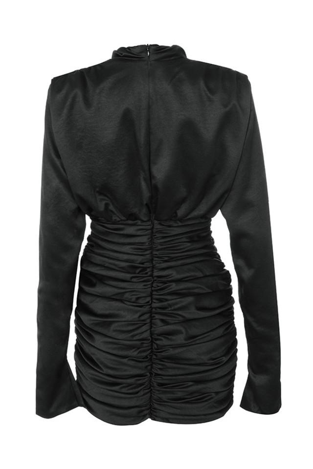 giorgiana dress in black