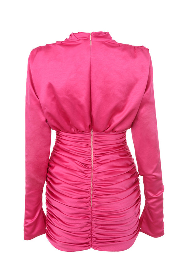 giorgiana dress in pink