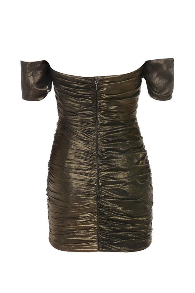 ilaria dress in bronze