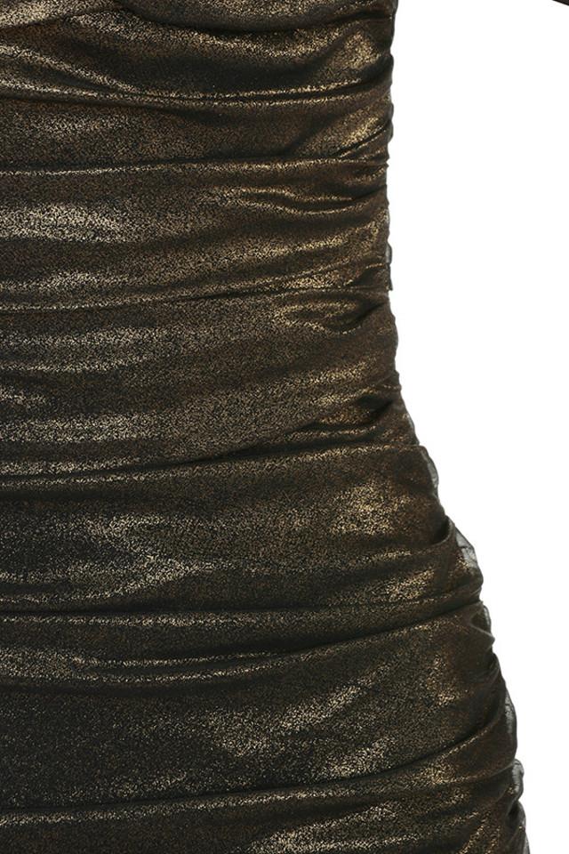 bronze ilaria dress