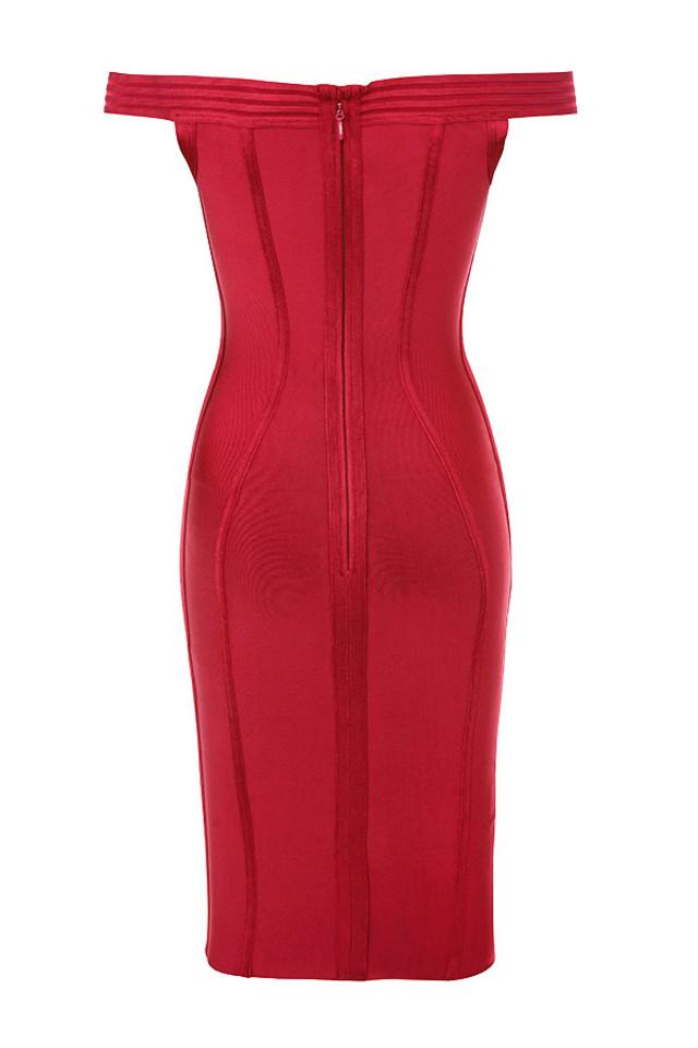 josephina dress in red