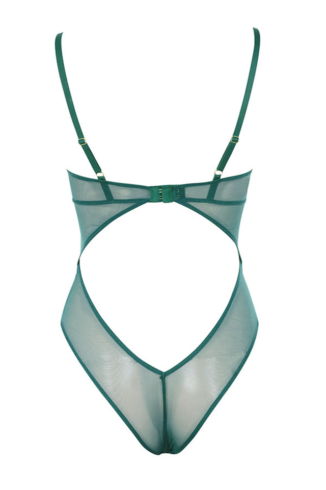 nadia bodysuit in green
