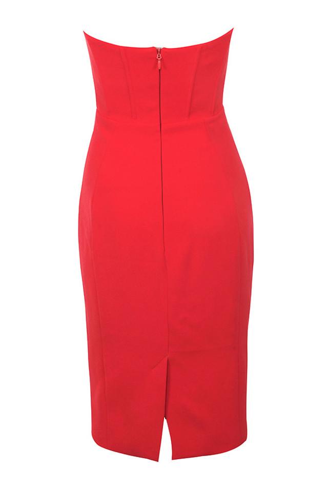 niaz dress in red