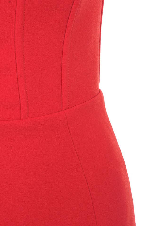 red niaz dress