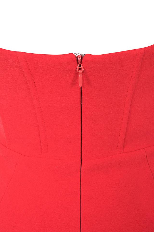 niaz red dress