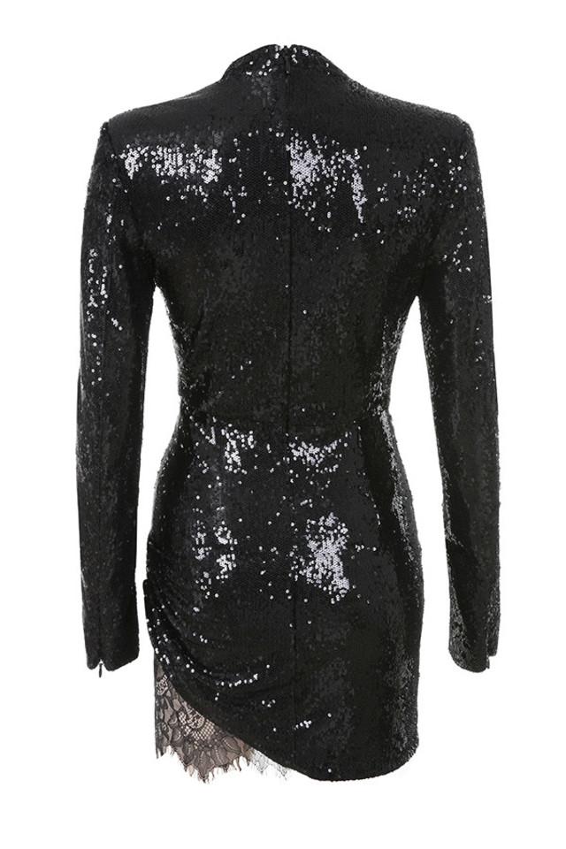 phoebe dress in black