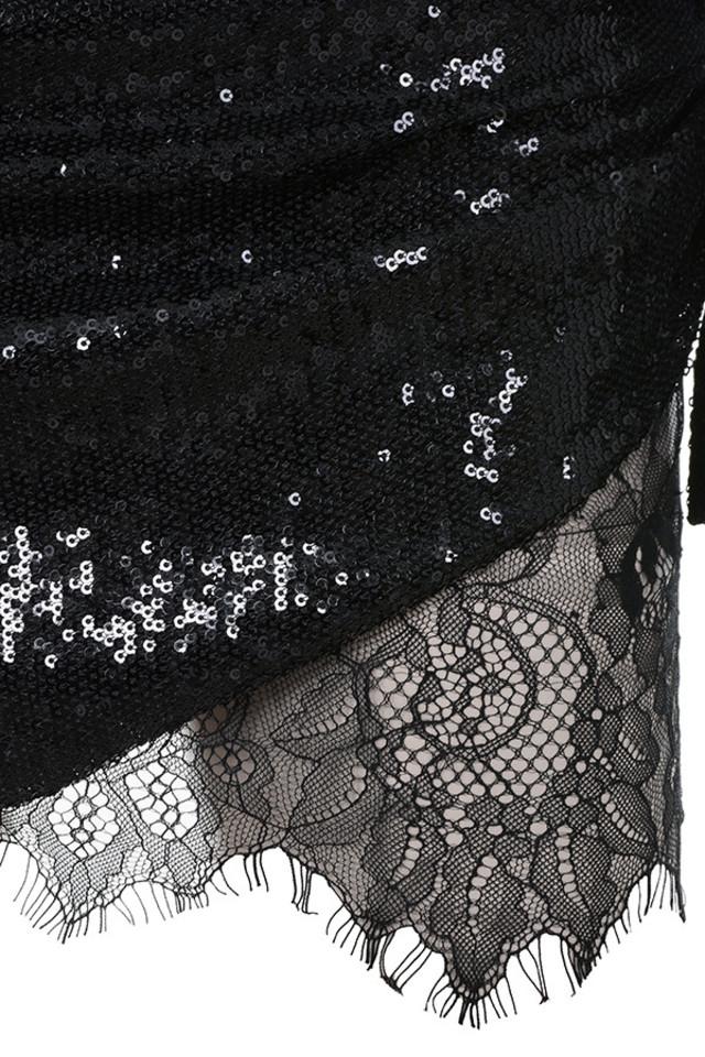 black phoebe dress