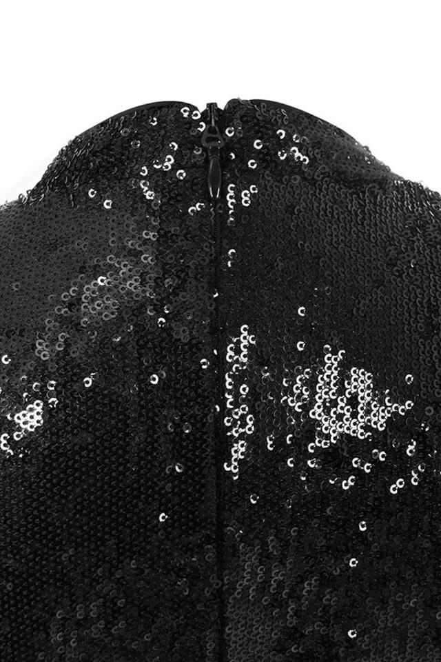 phoebe black dress
