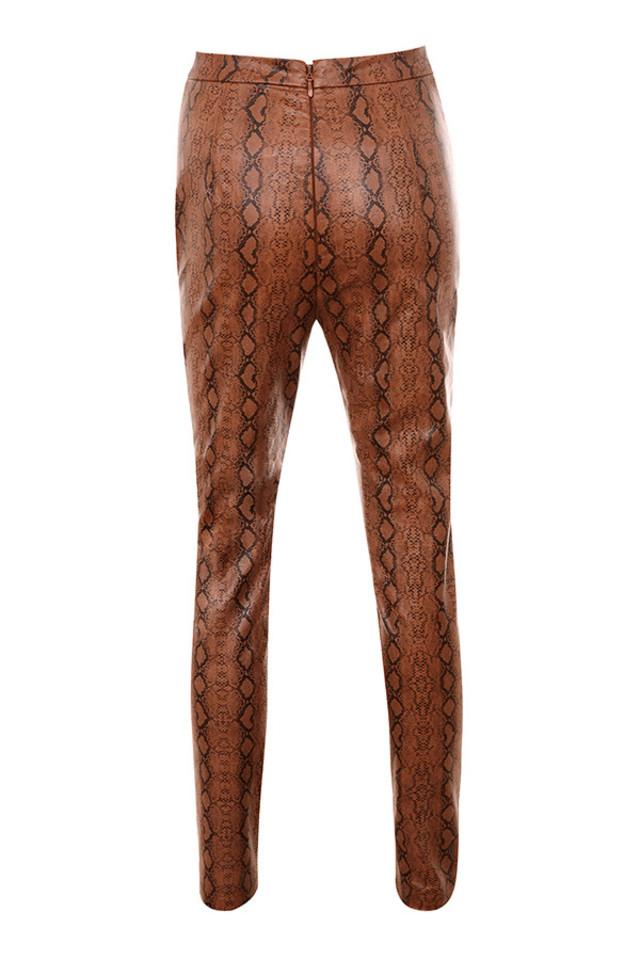 sophina trosuers in brown