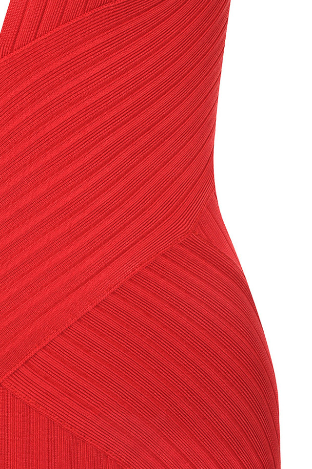 red vivienne dress