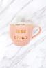 Rise and Grind Pink Coffee Mug
