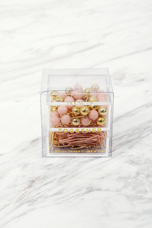 Paperclips + Pins Box