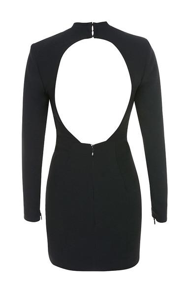 anine dress in black