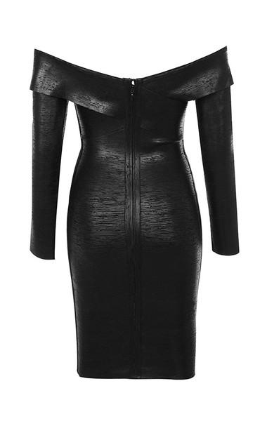black aziza dress
