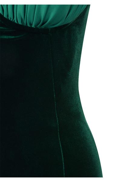 evergreen eleanora dress