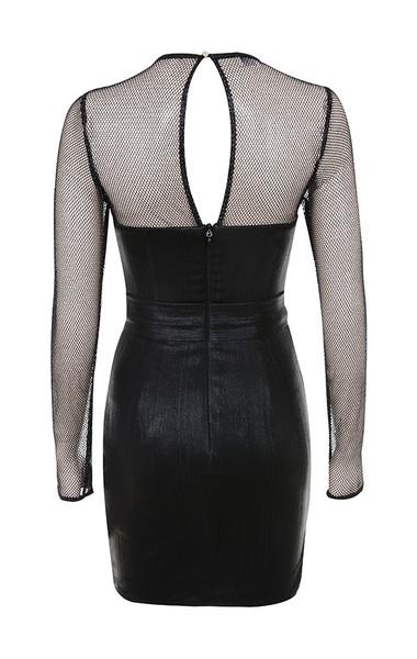 evangeline dress in black