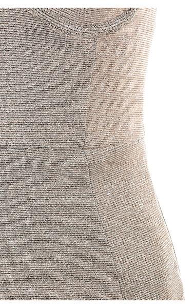 silver luisa dress