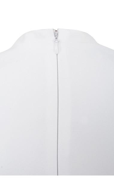odelia white jumpsuit