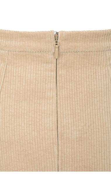camel rose skirt