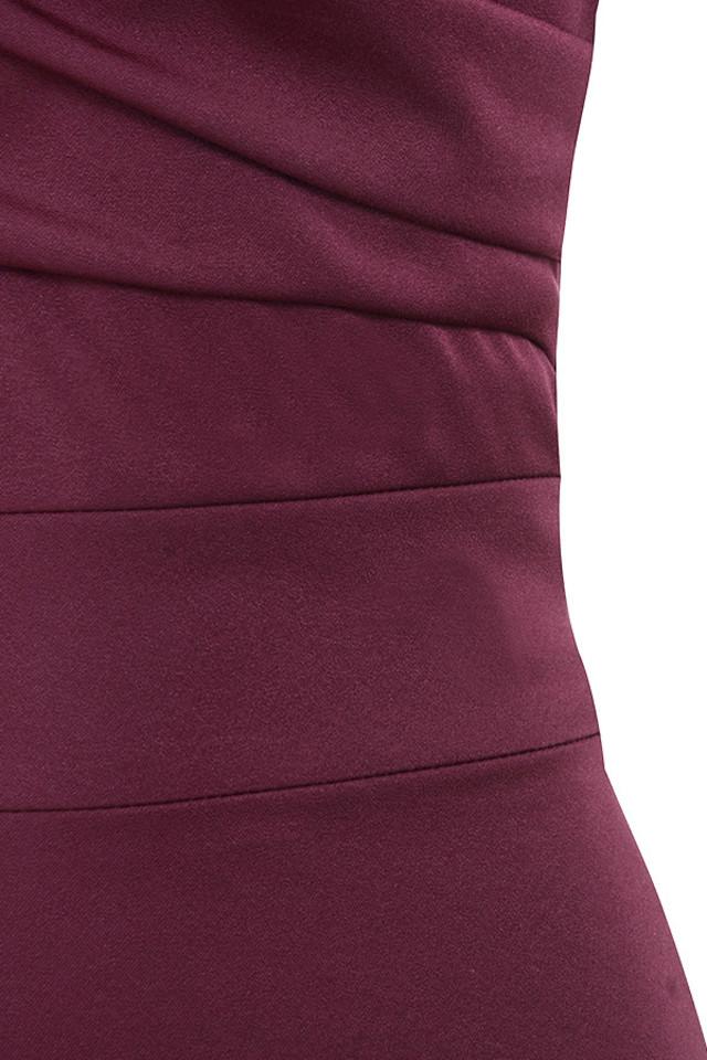 wine anaelle dress