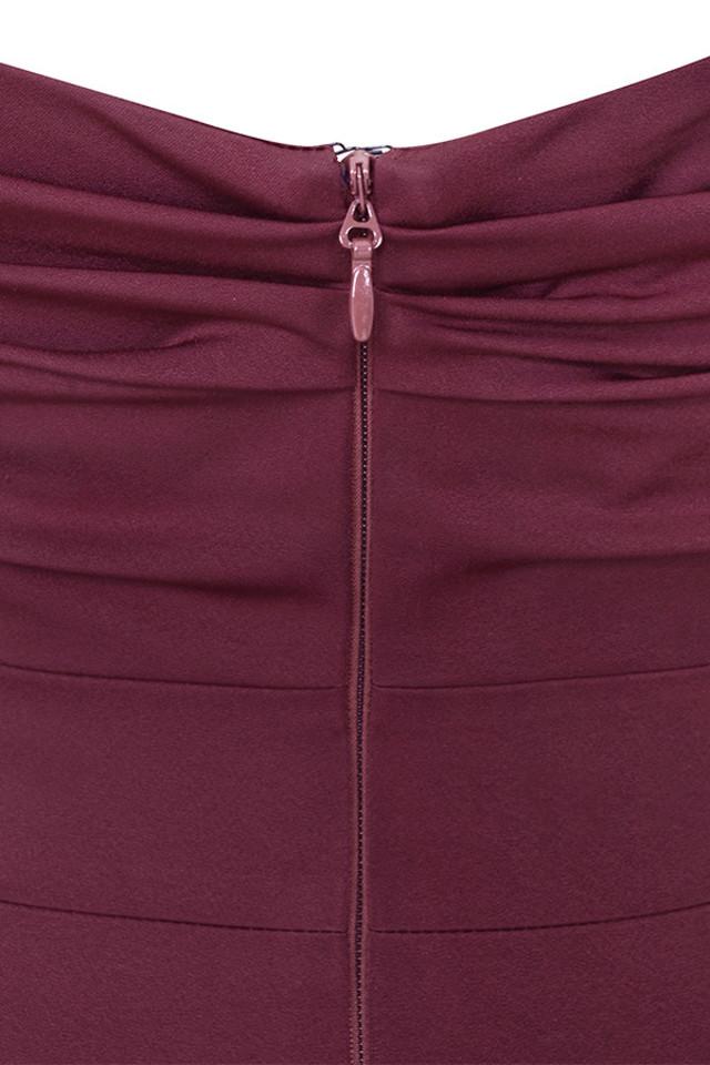 anaelle wine dress
