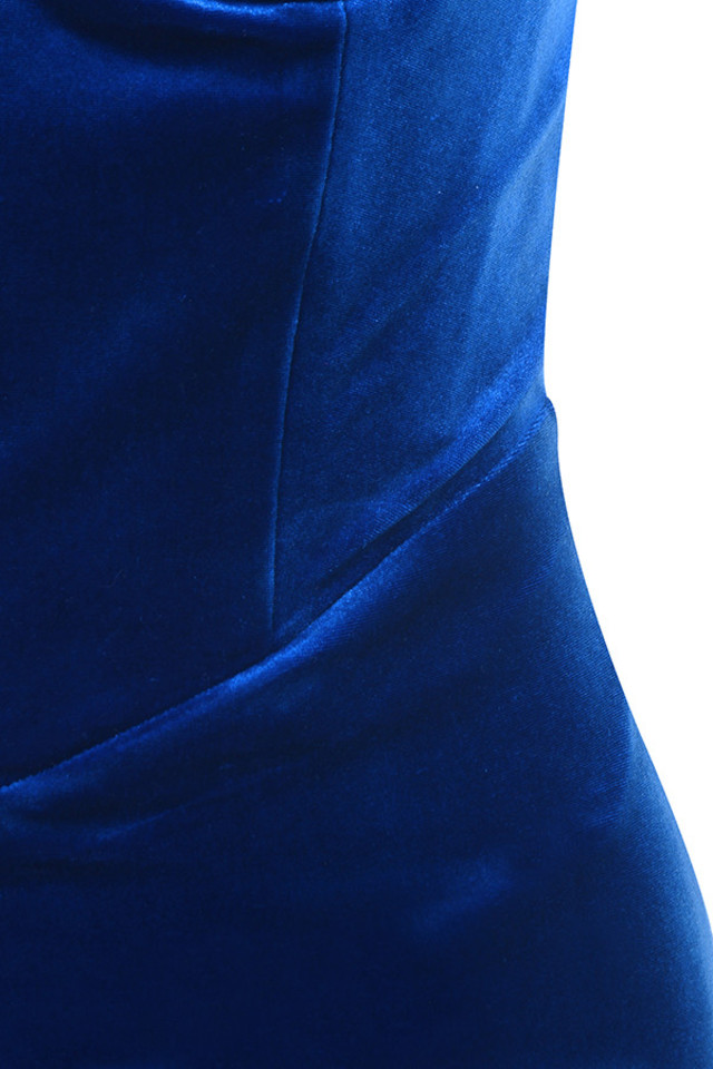 blue aneka dress