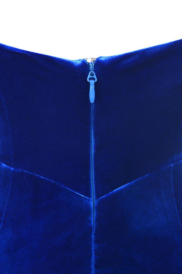 aneka blue dress
