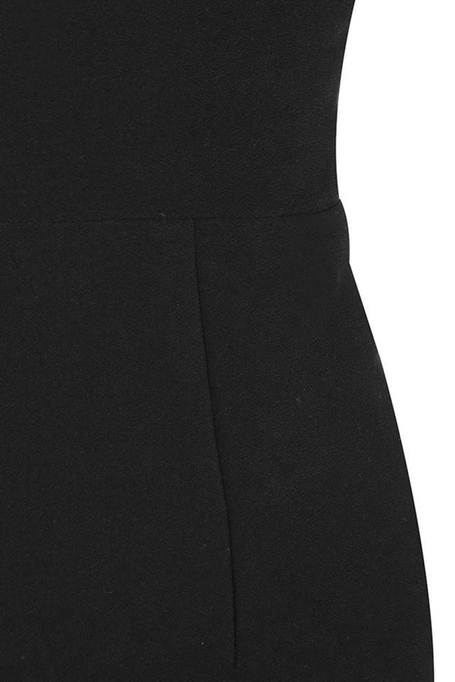 black anine dress