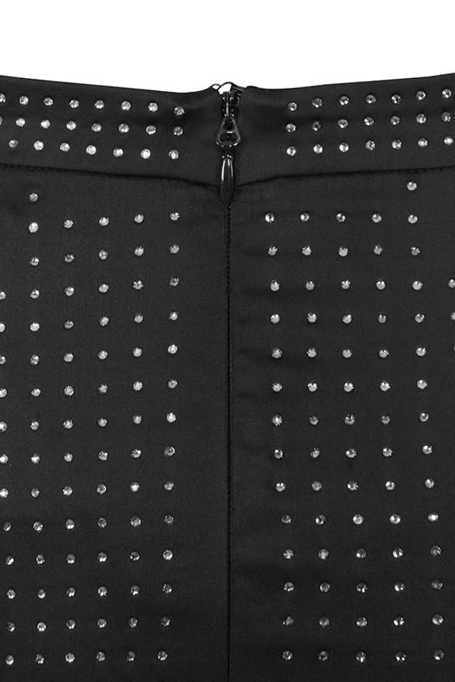 black ayala skirt