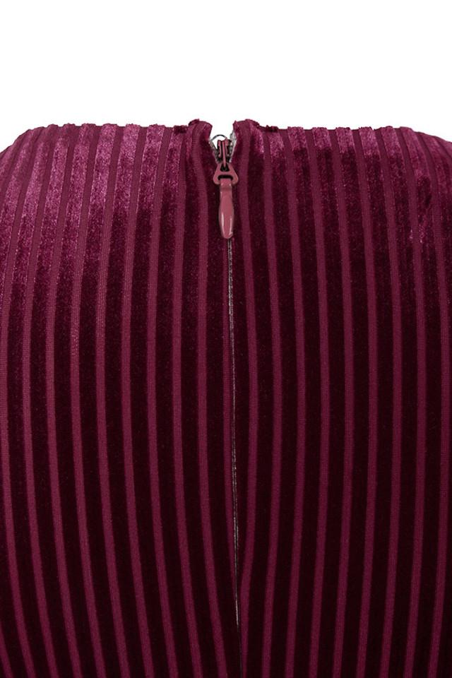 evelina wine jumpsuit